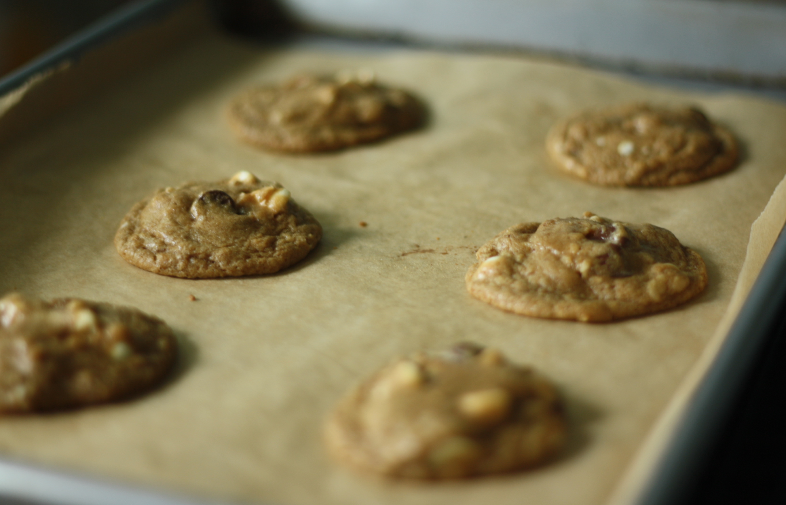 espresso white chocolate chip (latte) cookies