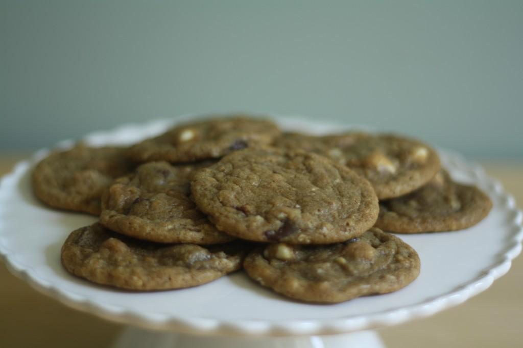 espresso white chocolate chip (latte) cookies