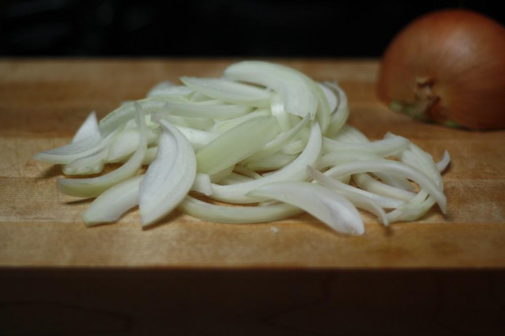 onions, chopped