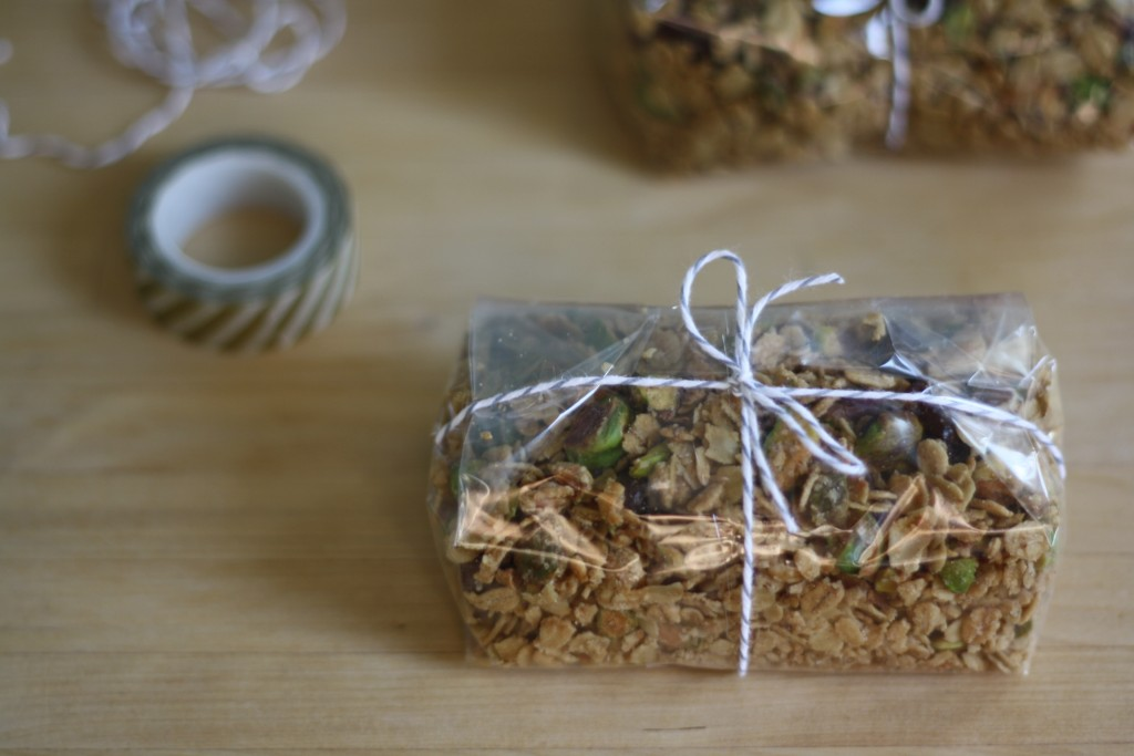 wrapped and ready, olive oil granola by butter me up, Brooklyn!