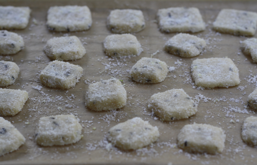 lavender shortbread dusted with lemon sugar from butter me up, Brooklyn!