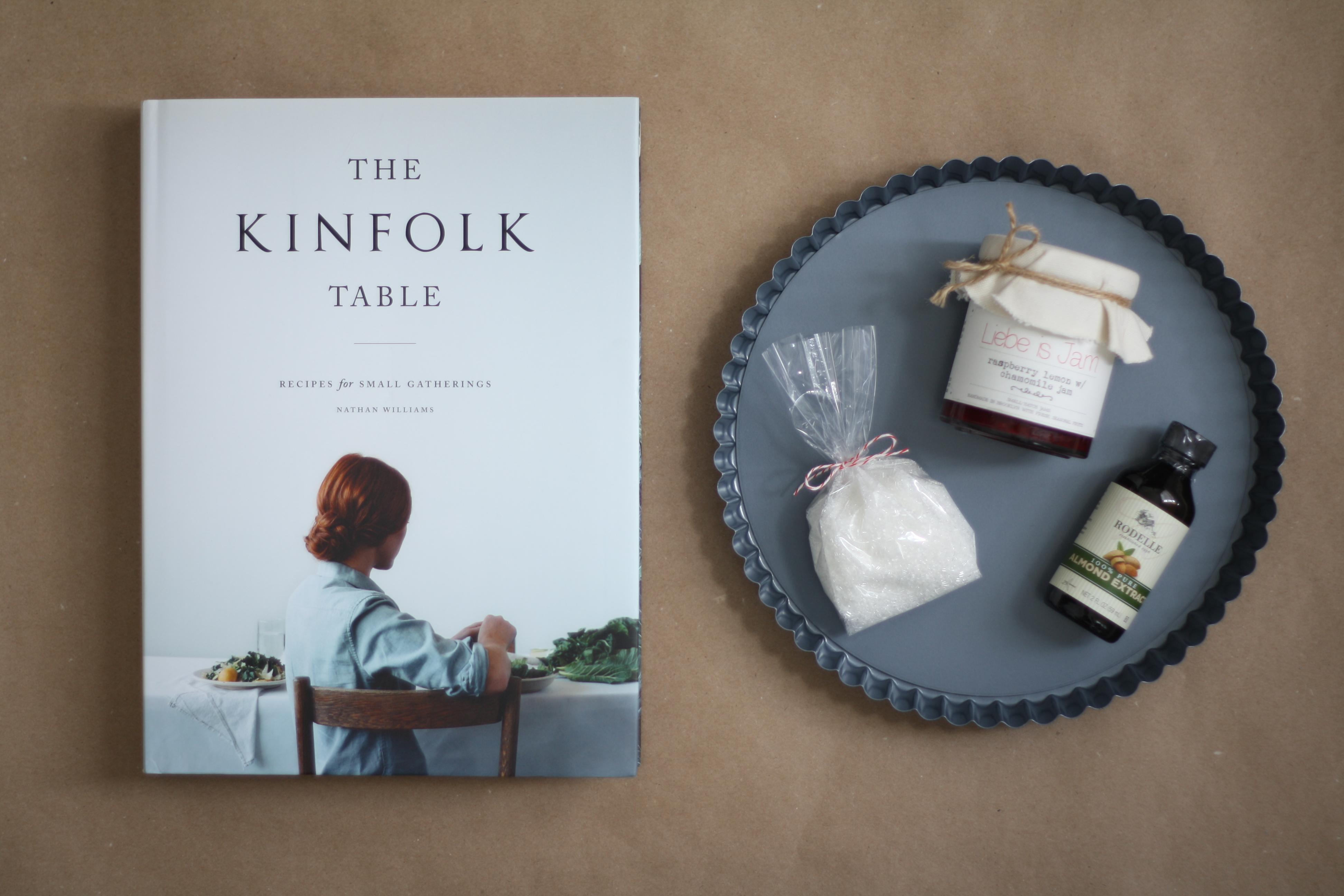 Almond jam tart the kinfolk table a giveaway for The kinfolk table