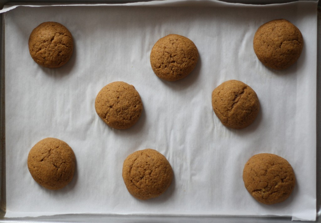 brown butter pumpkin cookies_4
