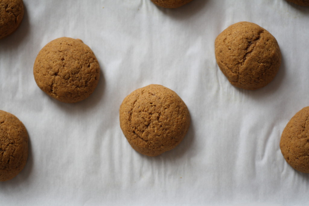brown butter pumpkin cookies_7