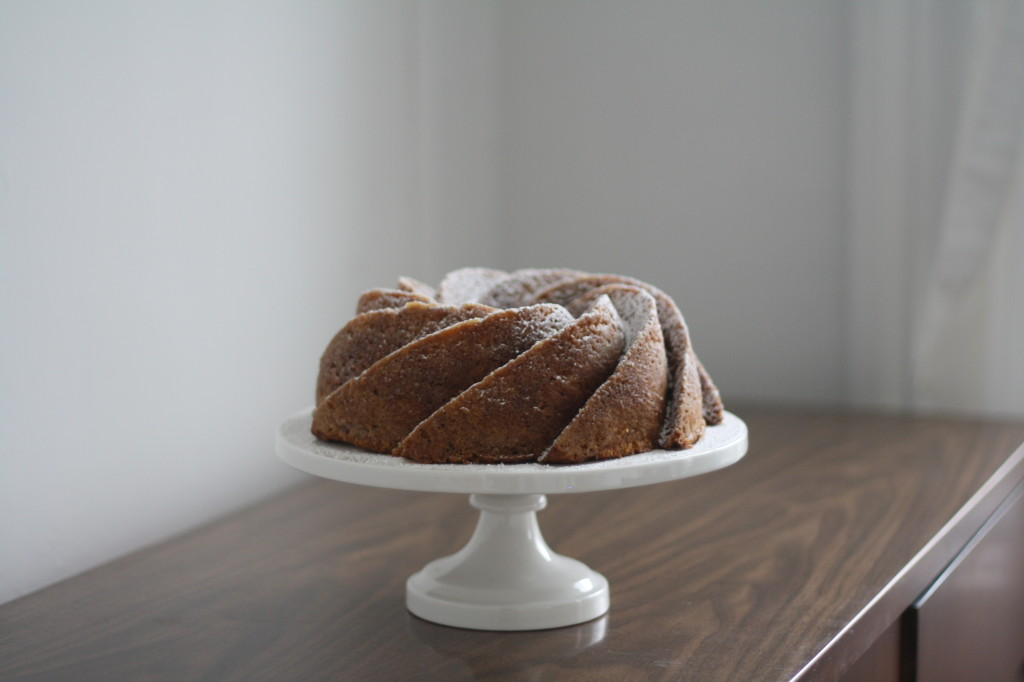 creme fraiche apple bourbon bundt on butter me up, Brooklyn!