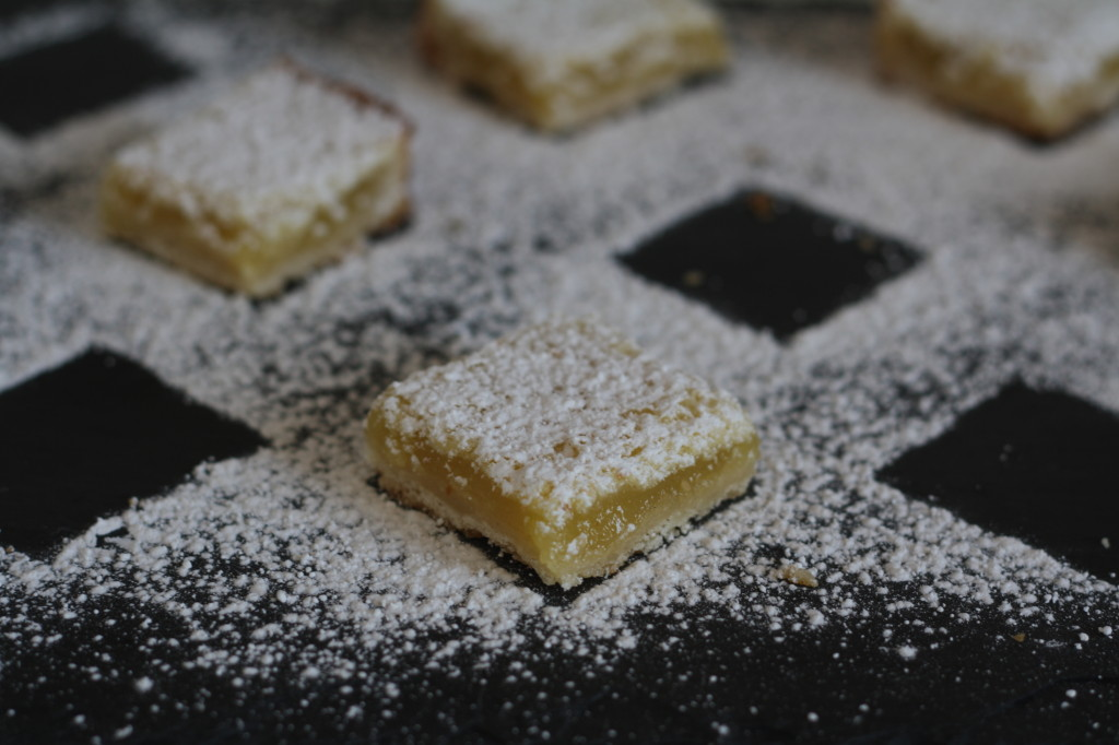 meyer lemon bars with salt and pepper crust